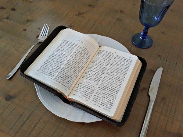 FEEDING ON THE WORD